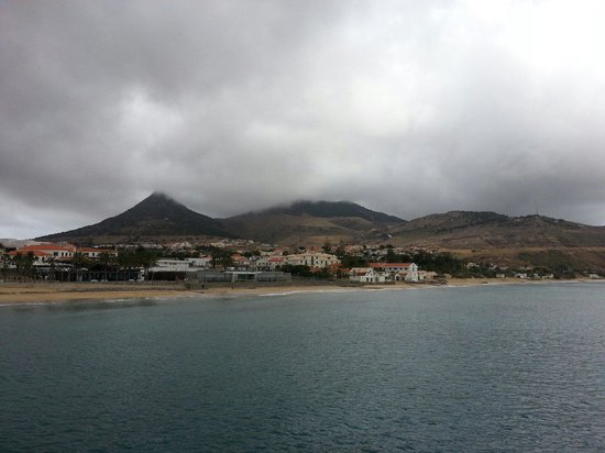 Pestana Porto Santo All Inclusive : Vila Baleira and a few clouds!