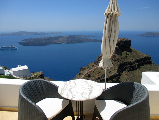 Tholos Resort: our balcony