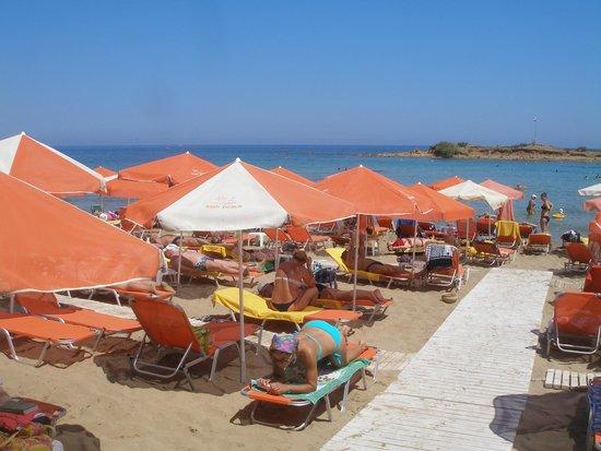 High Beach Hotel : Пляж отеля «Miramare High Beach»