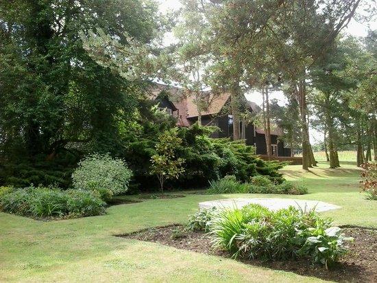 Great Hallingbury Manor: Fabulous gardens