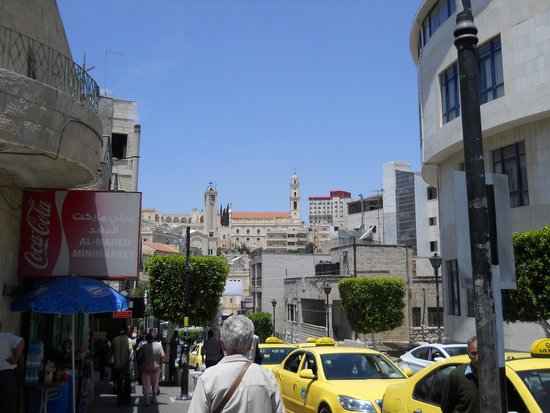 Saint Gabriel Hotel: vista de Bethlehem perto do hotel