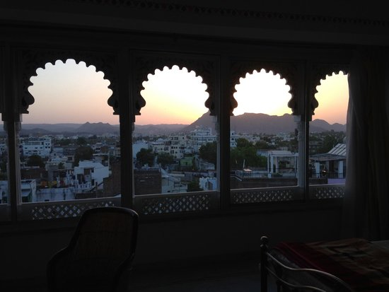 Kesar Palace: View from the 5th floor room