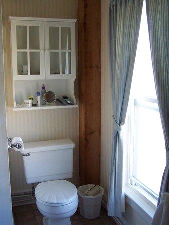 Higgins Beach Inn: shower to left