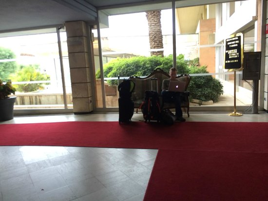 Grand Hotel Continental : Hotel lobby