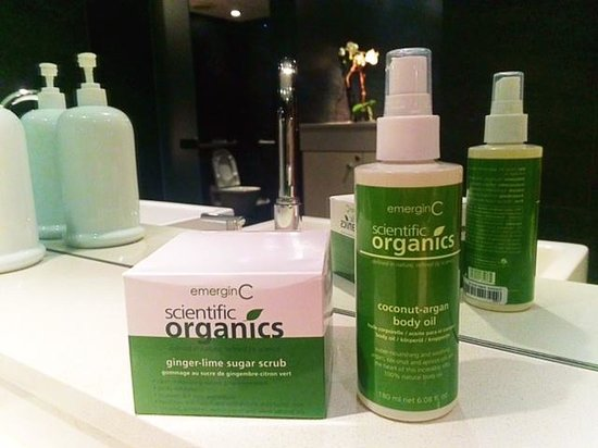 mySpa offers EmerginC Scientific Organics Skin Care Line