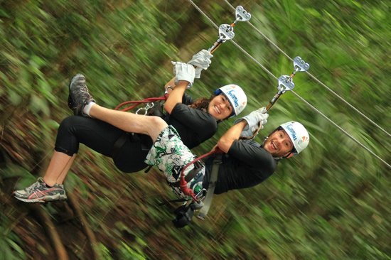 Vallarta Adventures: Ziplining with the hubs!