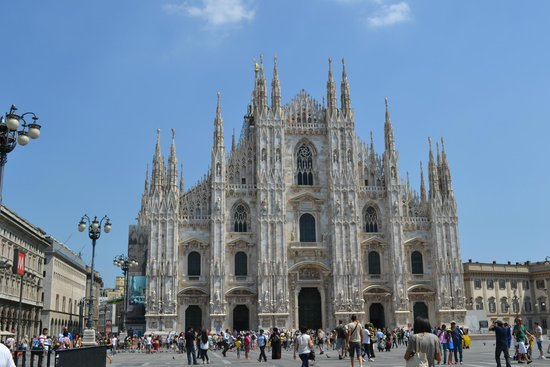Marconi Hotel: Воздушный Миланский собор