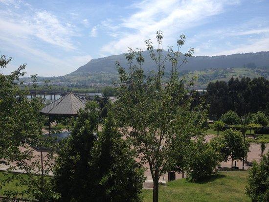 Hotel las Anclas: Buenas vistas desde la habitación