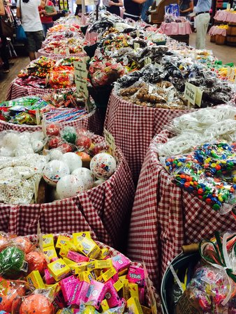 Mast General Store Old Boone Mercantile : All of your favorite candies - past and present!