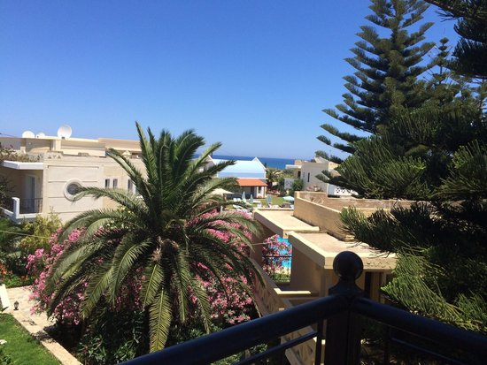 Kastalia Village & Saint Nikolas Hotel : Vista dal balcone