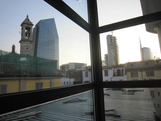 Marconi Hotel: Вид из отеля