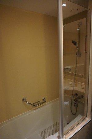 Steigenberger Hotel Maslak Istanbul: bathtub and shower
