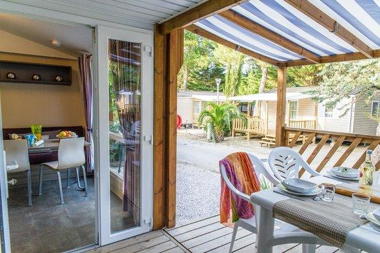 La Croix du Sud : Terrasse Loggia