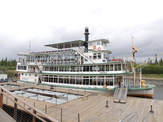Riverboat Discovery : Riverboat boarding area