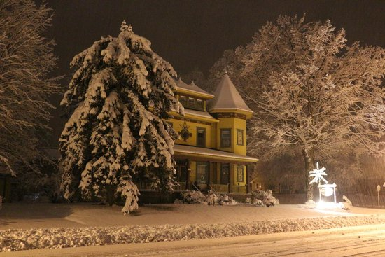 Sleepy Hollow Bed & Breakfast : Our first snow fall of November 2013.