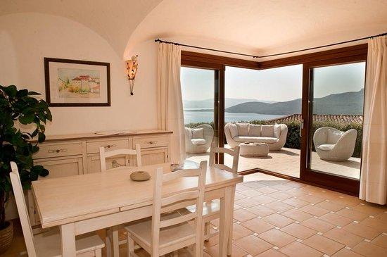 Resort Le Saline Palau: Living Room