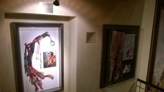 Hard Rock Cafe: Memorabilia
