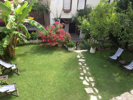 Villa Konak Hotel Kusadasi : jardin