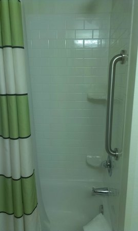 Fairfield Inn & Suites Raleigh-Durham Airport/Brier Creek: Shower
