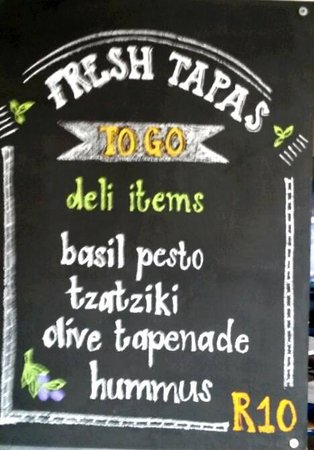 E-Street. Cafe. Bar. Restaurant : Fresh tapas for sale