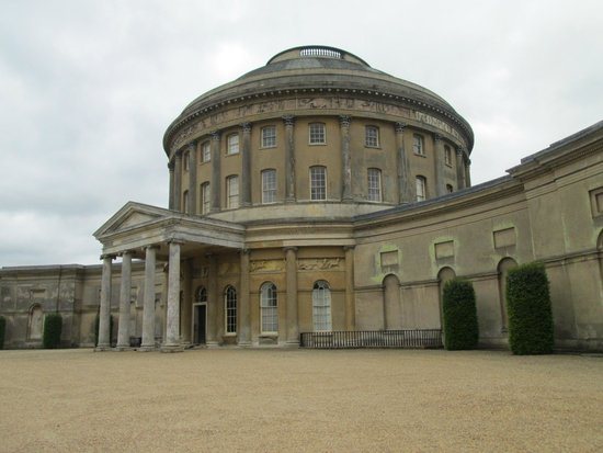 National Trust: Rotunda from the front
