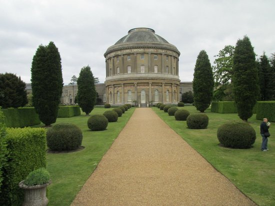 National Trust: Rotunda from the back