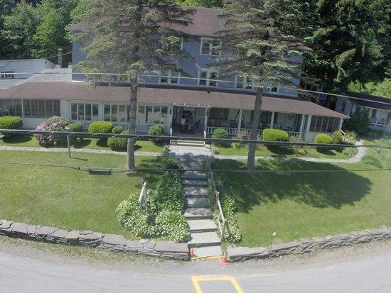 The Inn at Starlight Lake: Glad I had my drone and GoPro camera