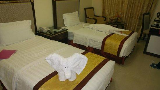 Cedar Hotel: Такой сюрприз будет ожидать вас в номере каждый день :)