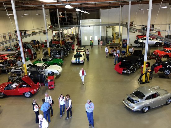 Canepa Motorsports Museum: Canepa restoration workshop