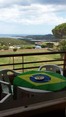 Cugnana Verde: Il balcone e la vista dal balcone