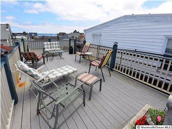 The Inn at Ocean Grove : Our rooftop deck