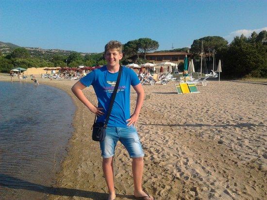 Club Esse Cala Bitta: La spiaggia dell'Hotel