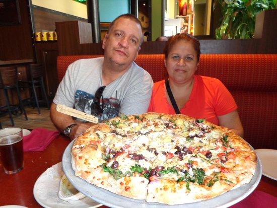 Pizza Luce: não tem igual.