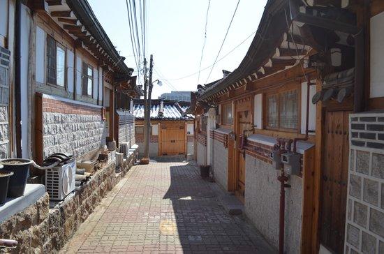 Hanok-Dorf Bukchon: 町並み