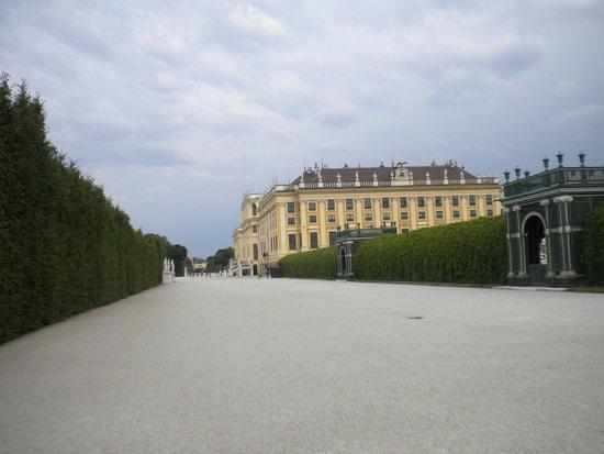 Schonbrunner Gardens: Palácio e jardim