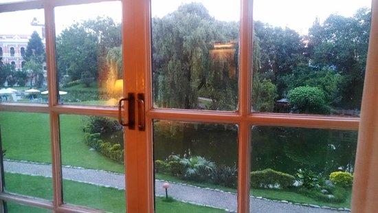 Hotel Yak & Yeti: Garden facing View from room