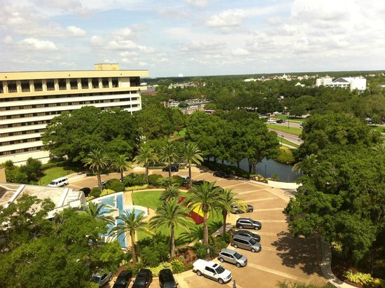 Hilton Orlando Lake Buena Vista - Disney Springs™ Area: View of EPCOT and Downtown Disney from room