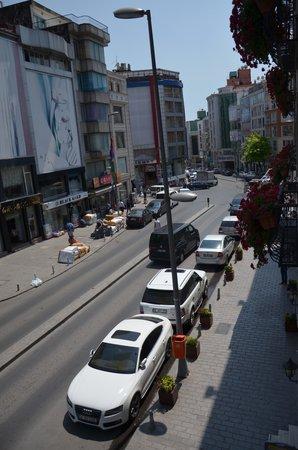Hotel Buyuk Keban : вид на улицу