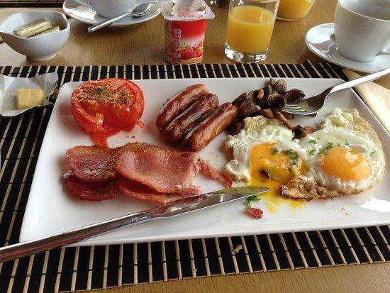 Slieve Elva Farmhouse B&B : Irish Breakfast