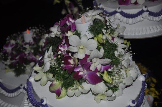 Royal Mirage Beach Resort: New year cake