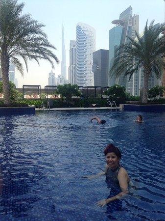 JW Marriott Marquis Hotel Dubai : 泳池