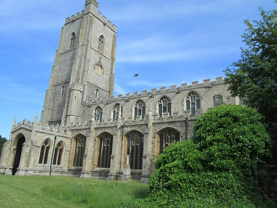 Mildenhall, UK: The church