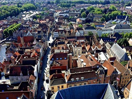 Belfort: View over Bruges