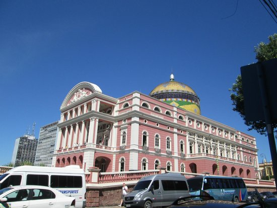 Teatro Amazonas: Área externa