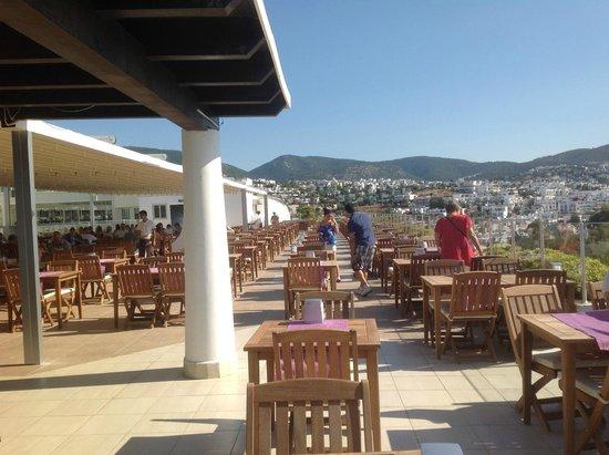 Royal Asarlik Beach : Панорама ресторан