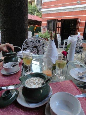 Yin Yang Restaurant : Было вкусно и красиво