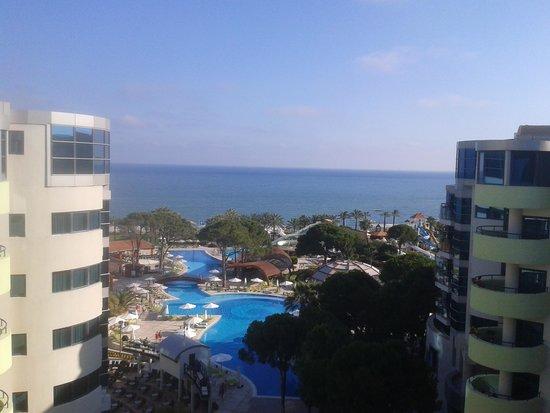 Cornelia De Luxe Resort : Cornelia Deluxe Hotel - View from room 1523