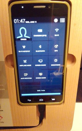 Hotel ICON: 無料で部屋についているスマートフォン ホットスポットになります