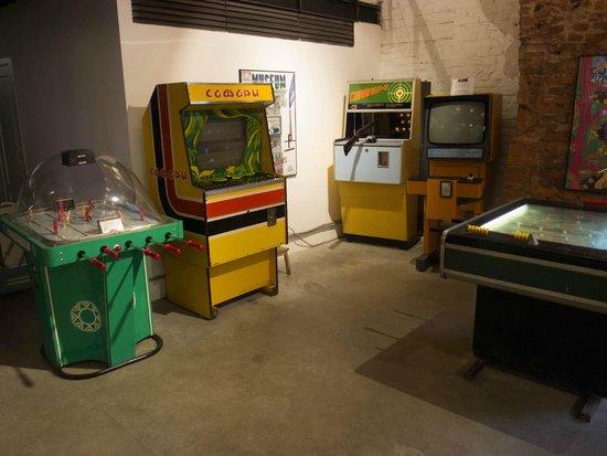 Museum of Soviet Arcade Machines: Ассортимент автоматов довольно велик