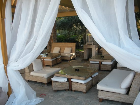 Orpheas Resort : salon lounge